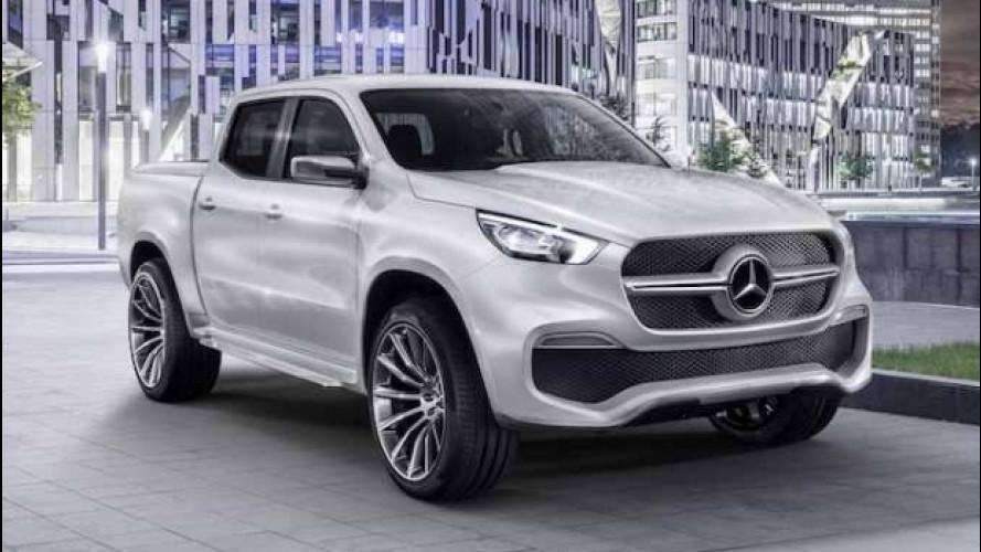 Mercedes Classe X Concept, il pick-up diventa premium