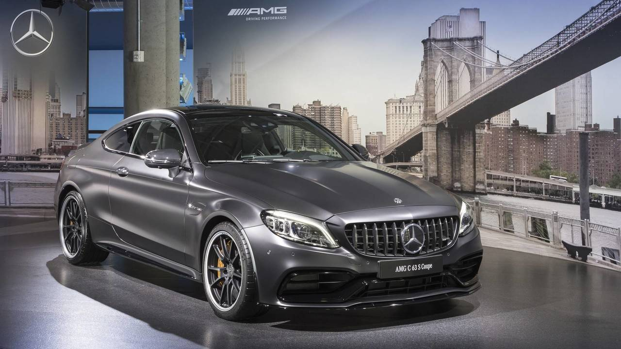 get up close and personal with the 2019 mercedes amg c63 s. Black Bedroom Furniture Sets. Home Design Ideas