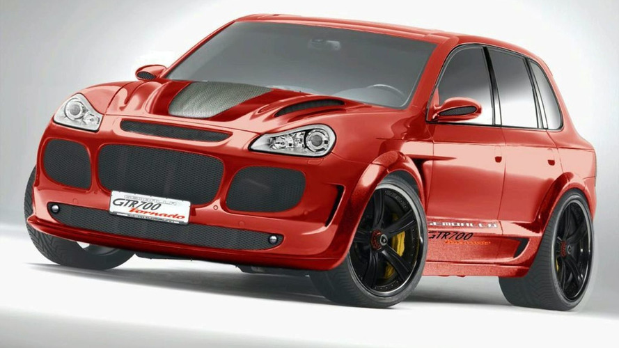 Gemballa tunes new Cayenne Turbo, again