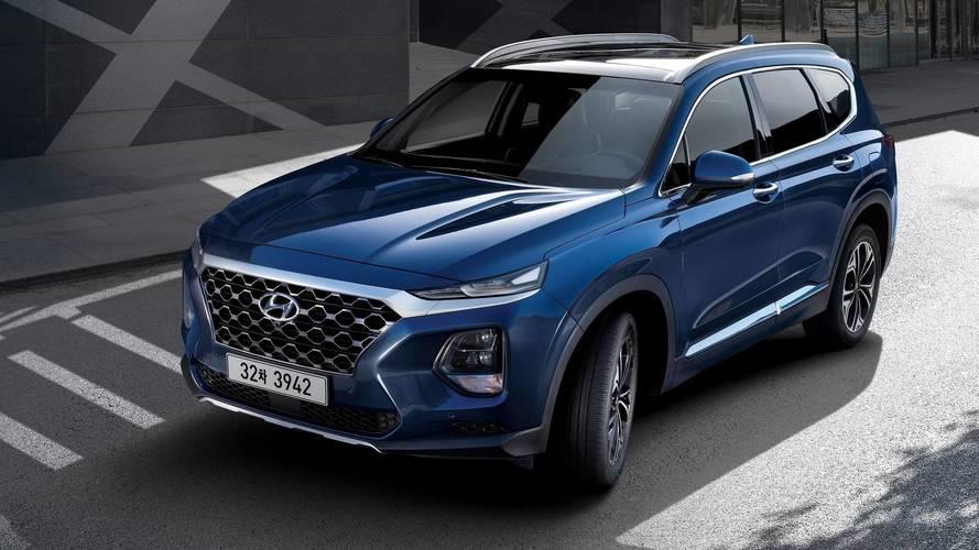 Hyundai revela mais imagens do novo Santa Fe