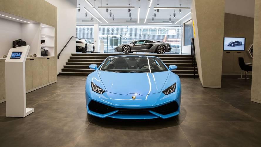 Lamborghini - Une concession au cœur de la Défense ouvre ses portes