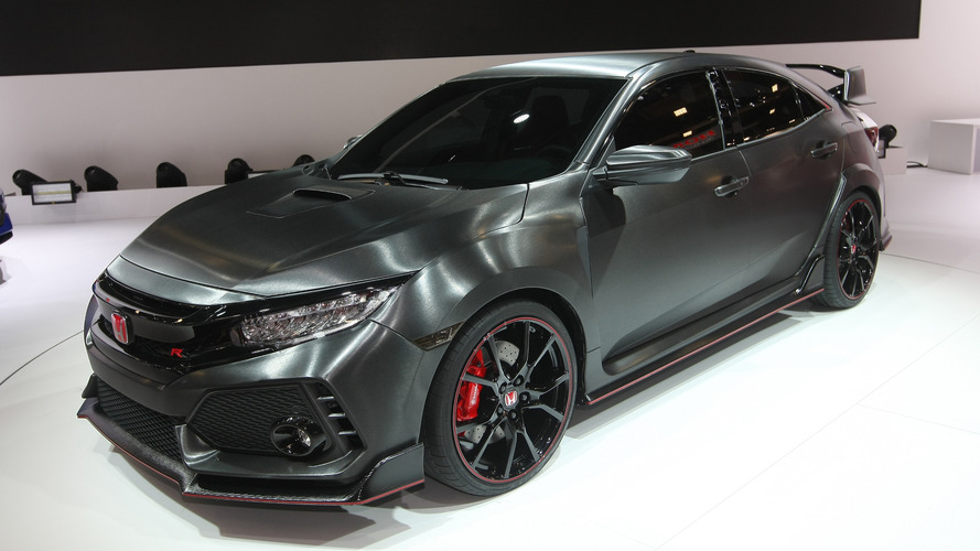 Honda Civic Type R Prototype 2016 Mondial de l'Automobile