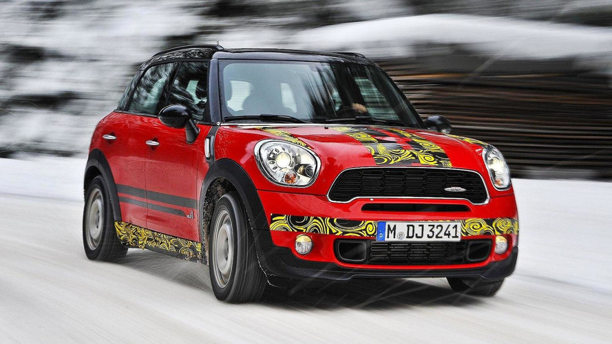 2012 MINI Countryman JCW teased
