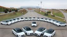 Audi A1 e-tron fleet for pilot project 11.11.2011