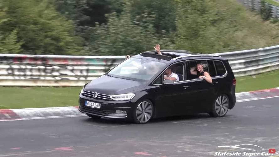 Vans round the Nürburgring – this video is a must-see