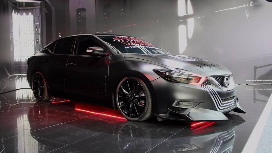 Nissan & Star Wars Continue Tie-Up With Six Showcars In LA