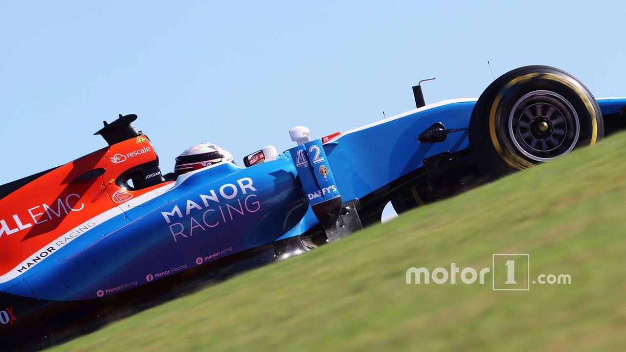 Jordan King, Manor Racing MRT05 Gelişim Pilotu