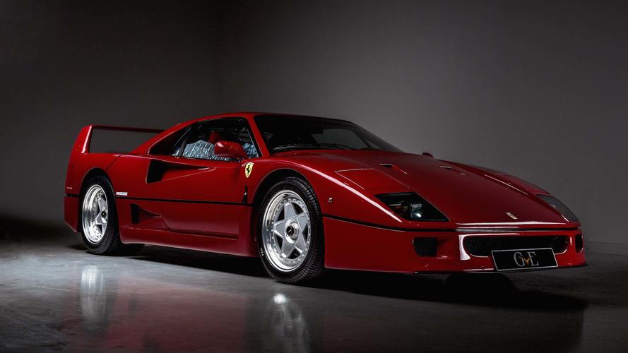 PHOTOS - Ferrari F40, Eric Clapton... Un million pour deux légendes !