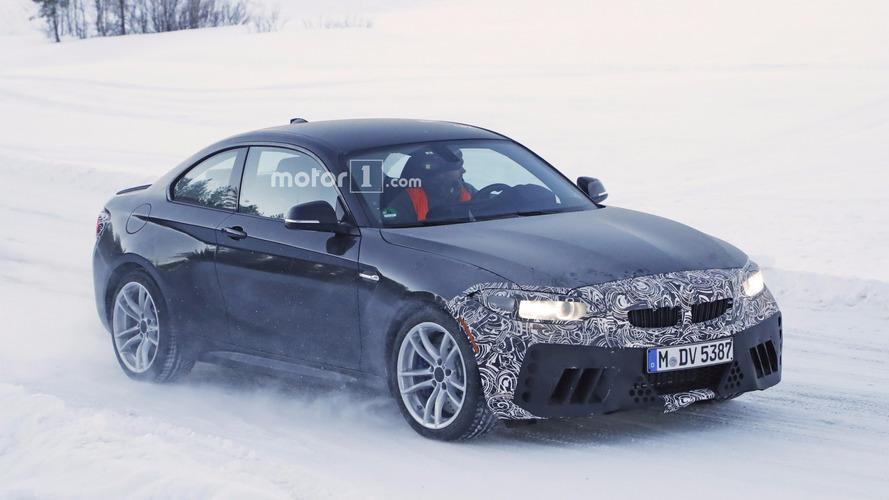 BMW M2 kış testlerinde