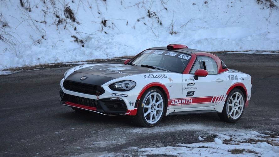 L'Abarth 124 Rally fera sa première apparition au Monte-Carlo