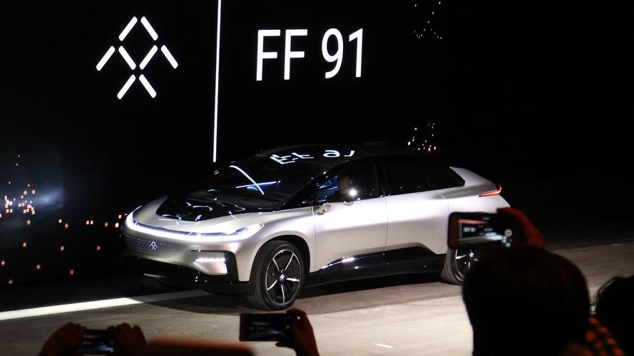 Faraday Future 91 tem 1.065 cv, 183,6 kgfm e vai de 0 a 100 km/h em 2,4 s