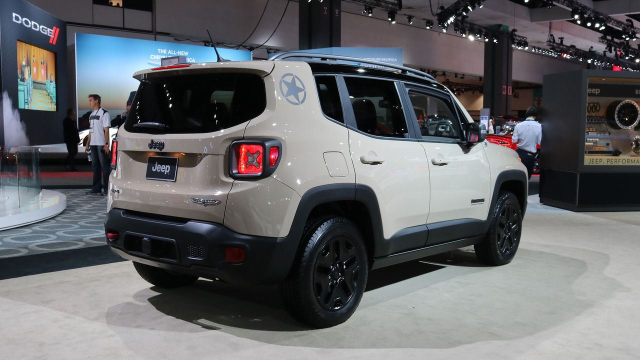 Jeep Build And Price >> 2017 Jeep Renegade Deserthawk is yet another special-edition crossover