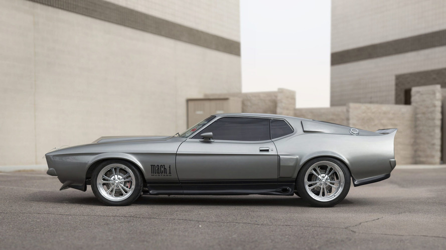 Evan Longoria Mustang Mach 1 Auction