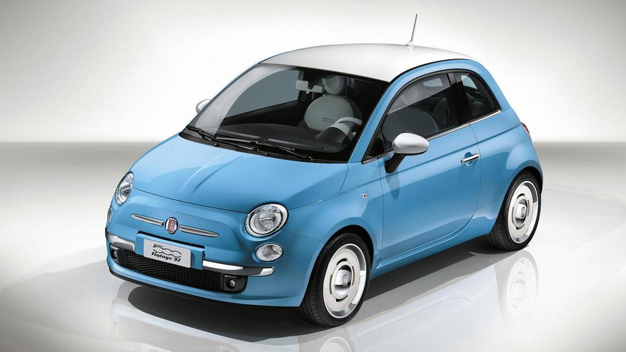 Fiat 500 Vintage '57 will bring retro looks to Geneva