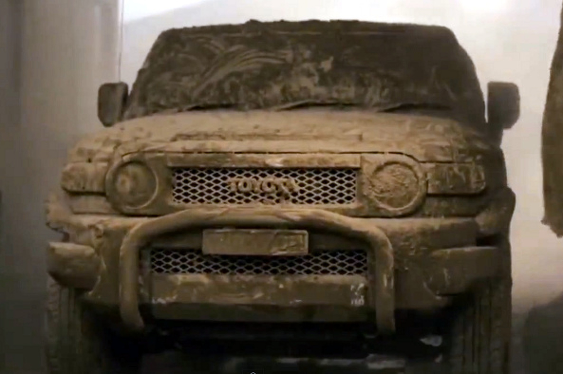 Dear Toyota, You Have to Earn a Dirt Wash