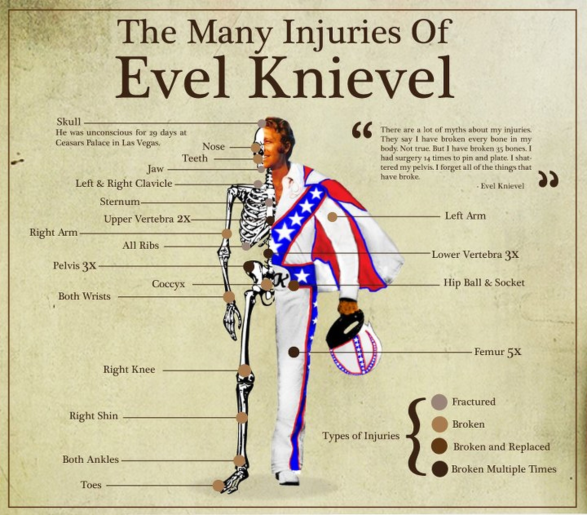 "America's Greatest Stuntman Shines in ""I Am Evel Knievel"""