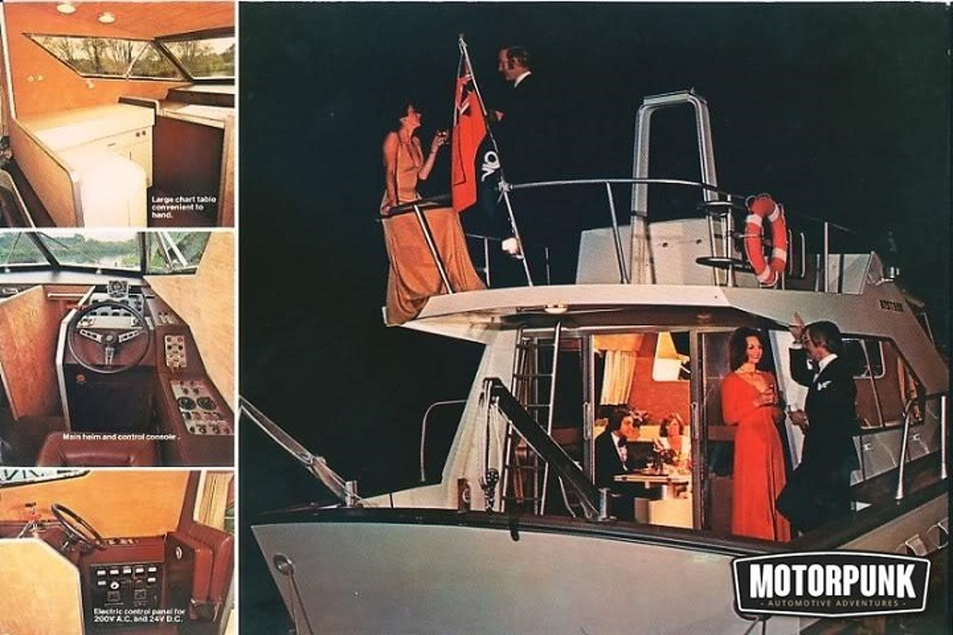 Lotus Once Took to the High Seas With a Line of Boats