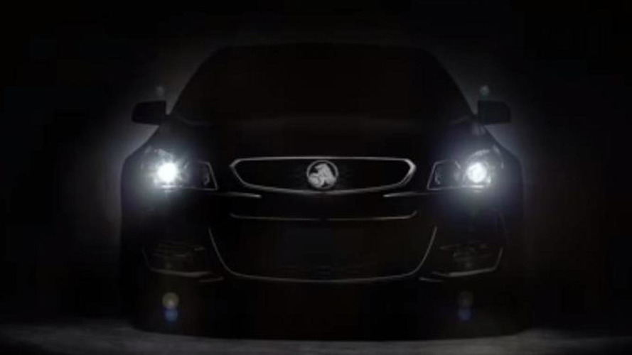 Holden Commodore VFII teased