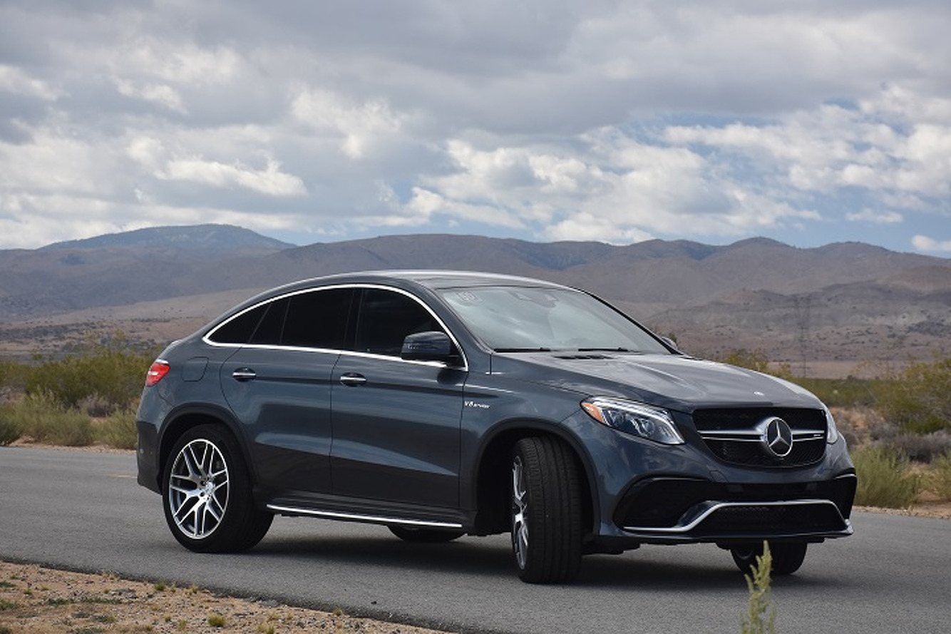 The mercedes benz gle 63 amg s coupe defies physics first for Mercedes benz gle review