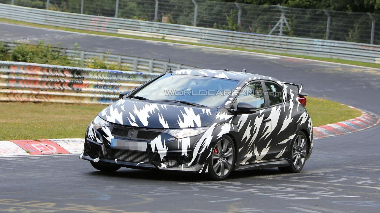 2015 Honda Civic Type R spy photo 13.8.2013