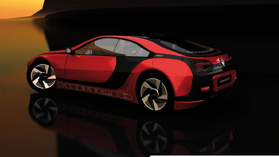 Renault Fuego spiritual successor rendered, reminds us of BMW i8