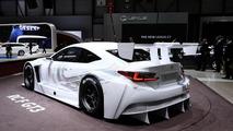 Lexus RC F GT3 concept live in Geneva