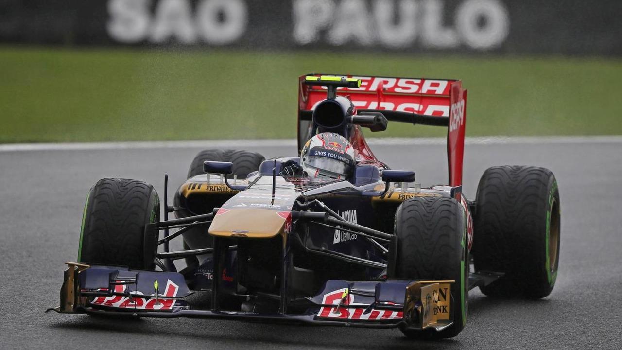 Daniil Kvyat 22.11.2013 Brazilian Grand Prix