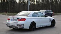 BMW M4 Convertible spy photo