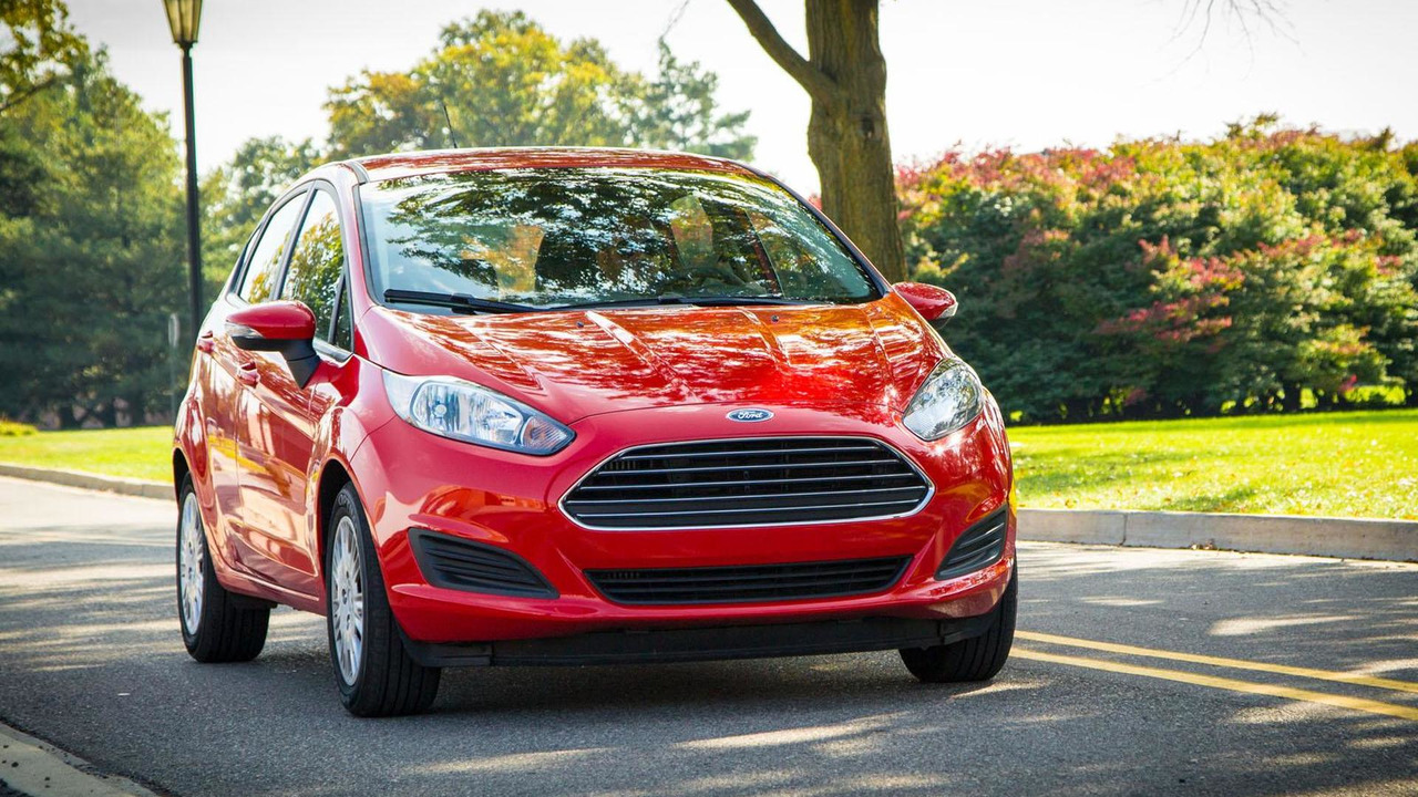 2014 Ford Fiesta with 1.0-liter EcoBoost engine (US-spec) 29.10.2013