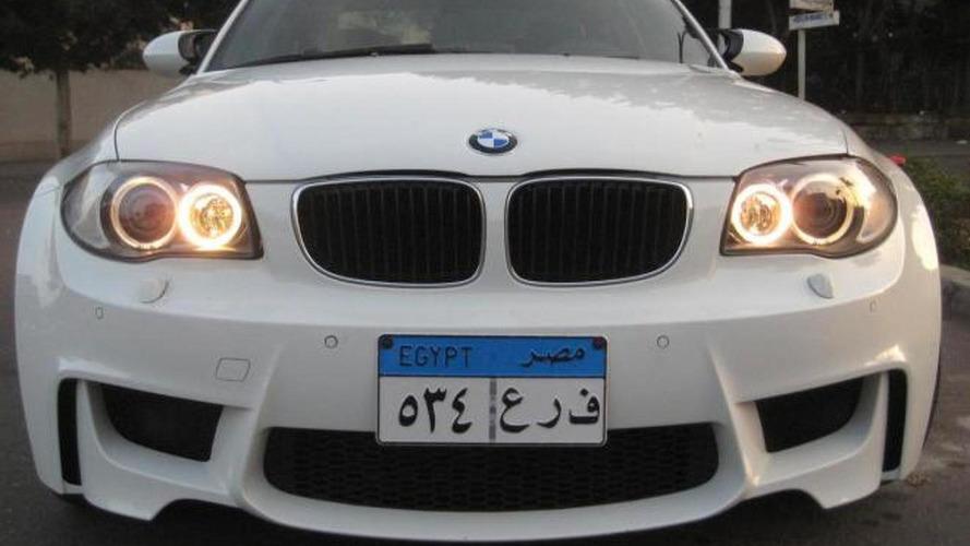 Egyptian treats E82 BMW 1-series with M3 engine