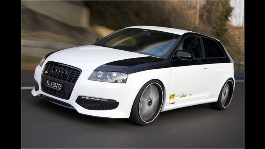 Hommage mit vier Ringen: Audi S3 von Color Concept Böhler