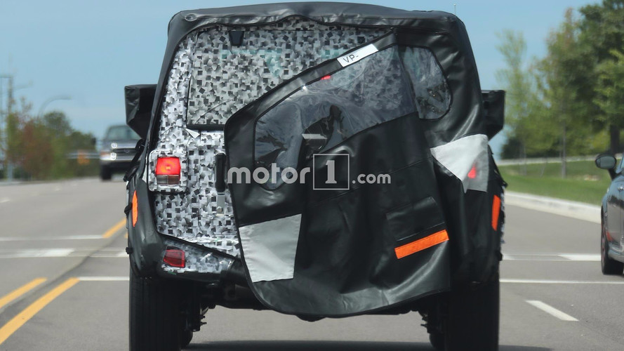 2018 Jeep Wrangler Taillights Spied After Wardrobe Malfunction