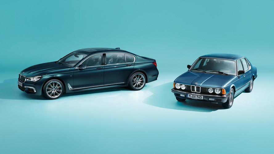 BMW 7 Serisi Edition 40 Jahre tanıtıldı