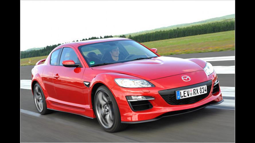 Mazda RX-8 Facelift: Der Wankel rotiert weiter