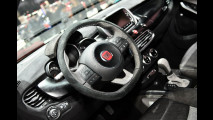 Fiat 500X Black Tie by Lapo Elkann al Salone di Ginevra 2015