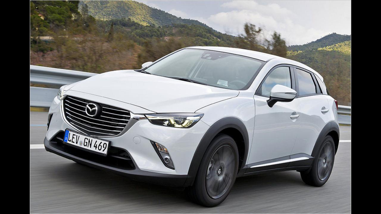 Kleine SUVs: Mazda CX-3