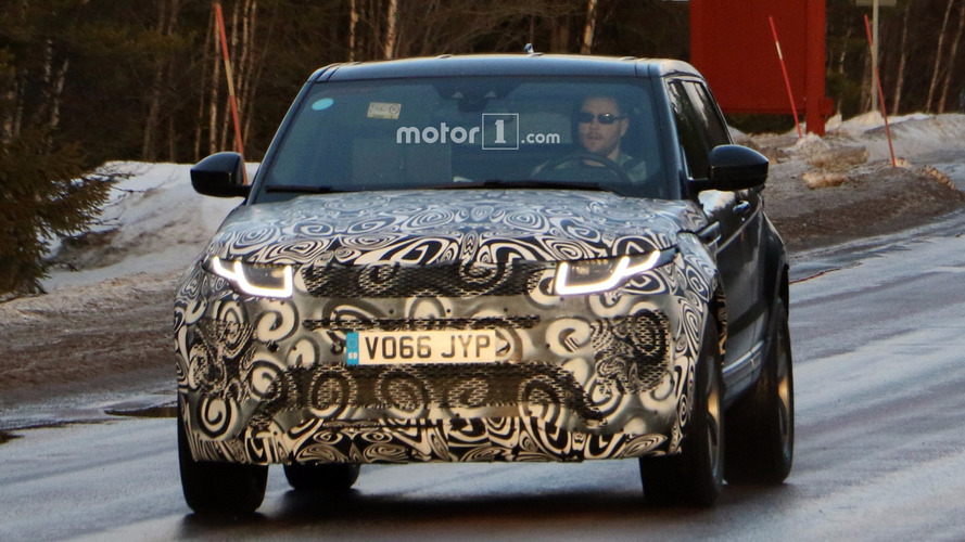 2019 Range Rover Evoque spied for the first time
