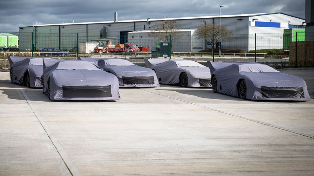 Aston Martin Vulcan Delivery