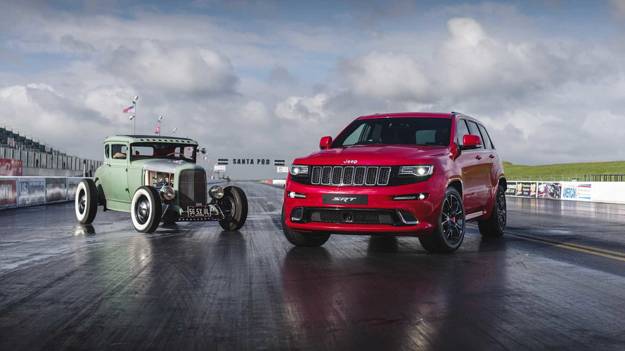 VIDÉO - Quand le Jeep Grand Cherokee SRT dévore un Hot Road