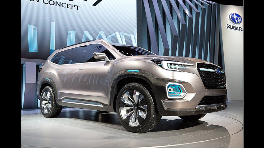 Subaru haut den VW Atlas in die Pfanne
