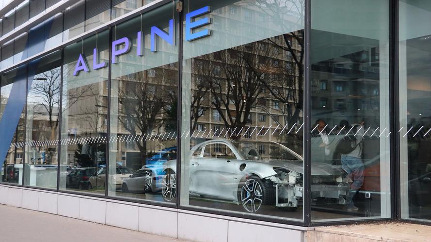 Alpine - Le réseau de distribution s'étend à toute la France