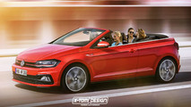 VW Polo GTI Cabrio render