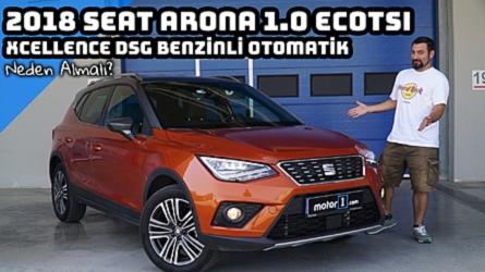 2018 Seat Arona 1.0 EcoTSI Xcellence   Neden Almalı?