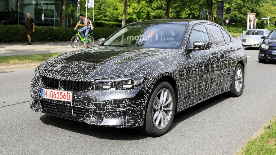 New 2019 BMW 3 Series spied with less camouflage