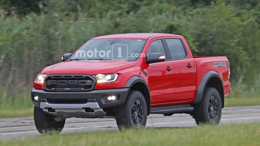 Left-Hand-Drive Ford Ranger Raptor Spotted Testing In U.S.