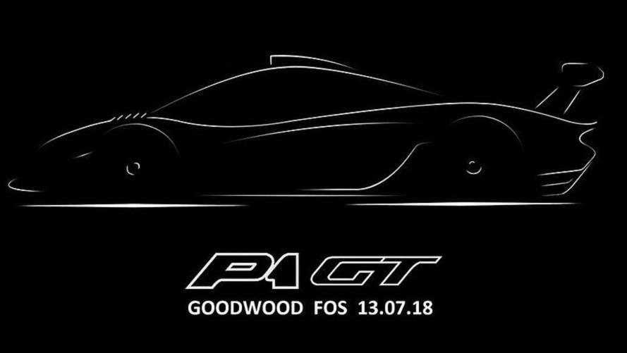 McLaren P1 GT, con la coda lunga a Goodwood