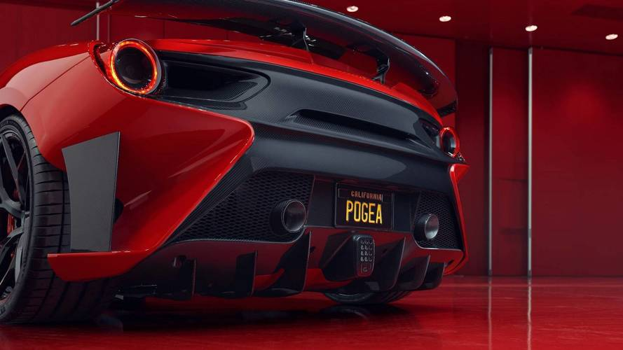 Ferrari 488 GTB By Pogea Racing