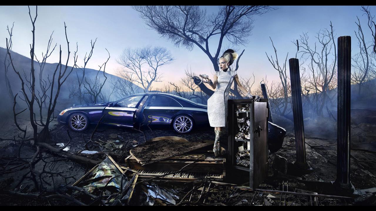 Il lusso di Maybach secondo David LaChapelle.