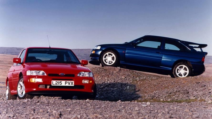 Ford Escort Cosworth (1992) - Du rallye à la route