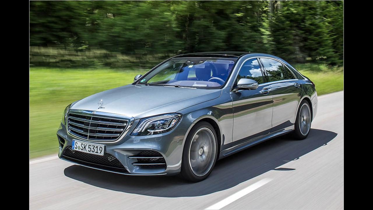Oberklasse: Mercedes S-Klasse